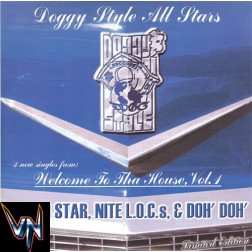 "Doggy Style All Stars* ‎– Fallen Star, Nite L.O.C.s, & Doh' Doh' -  2 × Vinyl, 12"", Limited Edition - Gatefold"