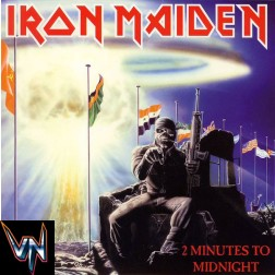 "Iron Maiden ‎– 2 Minutes To Midnight - Vinil, 7"", 45 RPM, Single, Limited Edition"