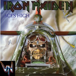 "Iron Maiden ‎– Aces High -  Vinil, 7"", 45 RPM, Single, Reissue"
