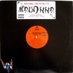 "Madonna – American Life (American Dream Mixes) - Vinil, 12"", Promo"