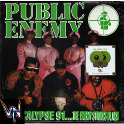 Public Enemy [Pré-Venda] ‎– Apocalypse 91... The Enemy Strikes Black - 2 × Vinil, LP, Album, Gatefold