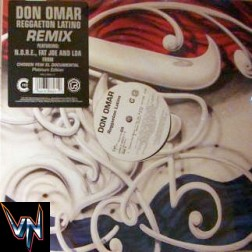 "Don Omar - Reggaeton Latino (Remix) - Vinil, 12"""