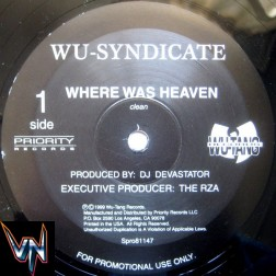 "Wu-Syndicate ‎– Where Was Heaven / Thug War - Vinil, 12"", Promo"