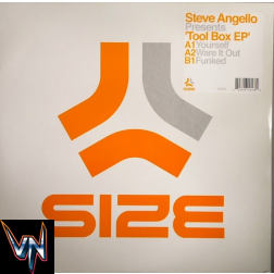 Steve Angello ‎– Tool Box EP - Vinil 12""
