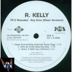 R. Kelly ‎– TP.3 Reloaded - Key Cuts - 2 × Vinil, LP, Album, Promo