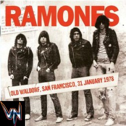 Ramones ‎– Live At The Old Waldorf - San Francisco, 31 Jan 78 - Vinil, LP, Unofficial Release